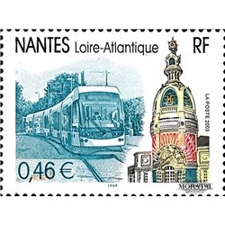 2003 France  Sc# 2940  ** MNH Very Nice. Nantes (Scott)  Personalities