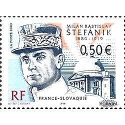 2003 France  Sc# 2942  ** MNH Very Nice. Milan Rastislav Stafanik (Scott)