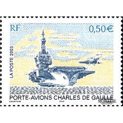 2003 France  Sc# 2945  ** MNH Very Nice. Aircraft carrier Charles de Gaulle (Scott)