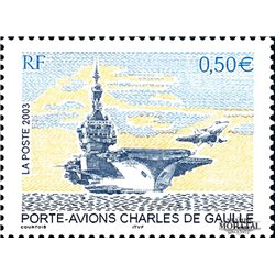2003 France  Sc# 2945  ** MNH Very Nice. Aircraft carrier Charles de Gaulle (Scott)