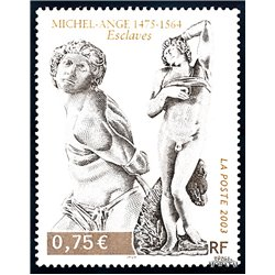 2003 France  Sc# 2947  ** MNH Very Nice. Slaves, by Miguel Angel (Scott)  Tourism