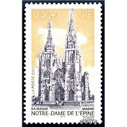 2003 France  Sc# 2963  ** MNH Very Nice. Notre-Dame (Scott)  Tourism