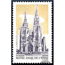 2003 Frankreich Mi# 3721  ** Perfekter Zustand. Notre-Dame (Michel)  Tourismus