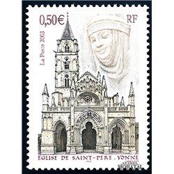 2003 Frankreich Mi# 3728  ** Perfekter Zustand. Kirche des Heiligen Vaters (Michel)  Sport