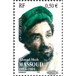 2003 France  Sc# 2977  ** MNH Very Nice. Ahmad Shah Massoud (Scott)  Tourism
