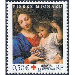 2003 Frankreich Mi# 3762  ** Perfekter Zustand. Rotes Kreuz (Michel)