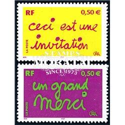 2004 Frankreich Mi# 3780 I  ** Perfekter Zustand. Glückwünsche (Michel)