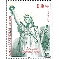 2004 France  Sc# 3000  ** MNH Very Nice. Statue Libertad, by A. Bartoldi (Scott)