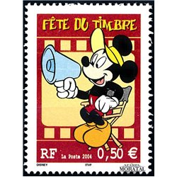 2004 France  Sc# 3002  ** MNH Very Nice. Stamp Day (Scott)  Comics