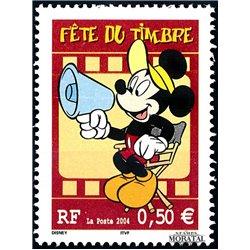 2004 Frankreich Mi# 3786A  ** Perfekter Zustand. Tag der Briefmarke (Michel)  Comics