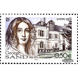 2004 France  Sc# 3006  ** MNH Very Nice. George Sand (Scott)  Tourism