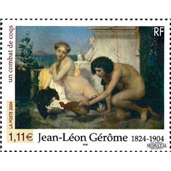 2004 France  Sc# 3013  ** MNH Very Nice. Jean-Leon Gerome (Scott)  Railway