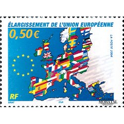 2004 France  Sc# 3022  ** MNH Very Nice. European Union Enlargement (Scott)  War