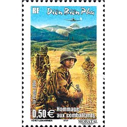 2004 France  Sc# 3023  ** MNH Very Nice. Battle Dien-Bien-Fu (Scott)  Europe