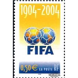 2004 France  Sc# 3028  ** MNH Very Nice. 100º F.I.F.A. (Scott)  Europe