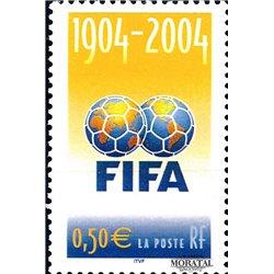2004 Frankreich Mi# 3815  ** Perfekter Zustand. 100º F.I.F.A. (Michel)  Europa