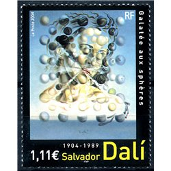2004 Frankreich Mi# 3820  ** Perfekter Zustand. Salvador Dalí (Michel)