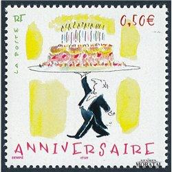 2004 Frankreich Mi# 3833 I  ** Perfekter Zustand. Glückwünsche (Michel)  Madizin