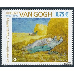 2004 France  Sc# 3012  ** MNH Very Nice. Vicent Van Gogh (Scott)  Sport