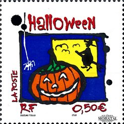 2004 France  Sc# 3048  ** MNH Very Nice. Halloween (Scott)