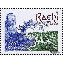 2005 Frankreich Mi# 3897  ** Perfekter Zustand. Rabino Rachi (Michel)