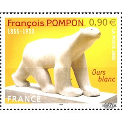 2005 France  Sc# 3099  ** MNH Very Nice. François Pompon (Scott)  Generic Series