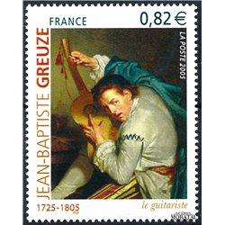 2005 France  Sc# 3098  ** MNH Very Nice. Jean-Baptiste Greuze (Scott)  Medecine