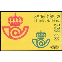 1986 España 2834C(II) Carnet II. Juan Carlos I Serie General **MNH Perfecto Estado  (Edifil)