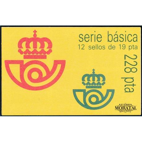 1986 Spanien 0 Grundlegende. Juan Carlos I (II) card-II Serie Gene ** Perfekter Zustand  (Michel)