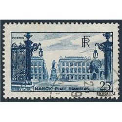 1948 France  Sc# 575  (o) Used, Nice. Estanislas Square (Scott)  Personalities