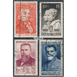 1949 France  Sc# 625/628  (o) Used, Nice. Telegraph and Telephone Conference (Scott)