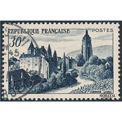 1951 France  Sc# 658  (o) Used, Nice. Chateau Arbois (Scott)  Tourism