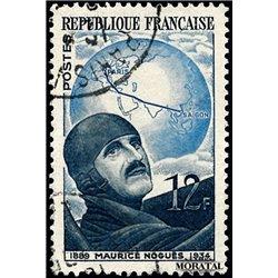 1951 France  Sc# 665  (o) Used, Nice. Maurice Noguès (Scott)  Personalities