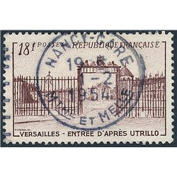 1952 France  Sc# 686  (o) Used, Nice. Versailles Gate (Scott)  Tourism