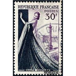 1953 France  Sc# 687  (o) Used, Nice. Dressmaking Industry (Scott)
