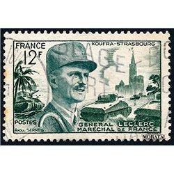 1954 Frankreich Mi# 1010  (o) Gebrauchte, Zustand. Marschall Leclerc (Michel)  Persönlichkeiten