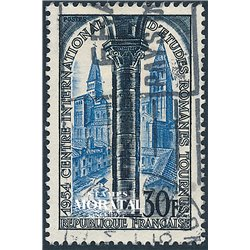 1954 France  Sc# 726  (o) Used, Nice. St. Philibert (Scott)  Saints