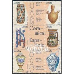 1987 Spanien 2771/2776 Zd-Bogen Handwerk-block Handwerk ** Perfekter Zustand  (Michel)