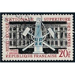 1959 France  Sc# 914  (o) Used, Nice. National Mining School. (Scott)