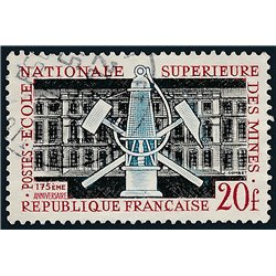 1959 France  Sc# 914  (o) Used, Nice. National Mining School. (Scott)