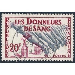 1959 Frankreich Mi# 1264  (o) Gebrauchte, Zustand. Blutspender (Michel)