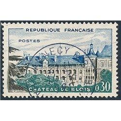1960 Frankreich Mi# 1306  (o) Gebrauchte, Zustand. Schloß Blois (Michel)  Tourismus