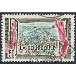 1960 Frankreich Mi# 1308  (o) Gebrauchte, Zustand. Le Bourboule (Michel)