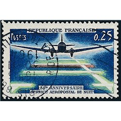 1964 France  Sc# 1089  (o) Used, Nice. Airmail Service (Scott)