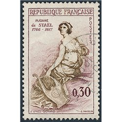 1960 Frankreich Mi# 1322  0. Madame de Stael (Michel)