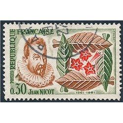 1961 France  Sc# 989  0. Tobacco (Scott)