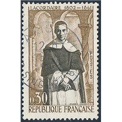 1961 France  Sc# 988  0. Henri de Lacordaire (Scott)  Personalities