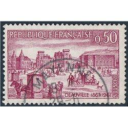 1961 France  Sc# 996  0. Deauville (Scott)