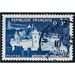 1962 France  Sc# 1025  0. Ramparts de Vanne (Scott)  Tourism