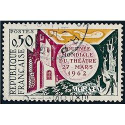 1962 Frankreich Mi# 1387  0. Tag der Briefmarke (Michel)